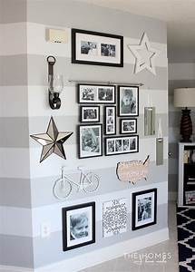5 tips for creating the perfect gallery wall dekoration With kitchen colors with white cabinets with dinosaur wall art hobby lobby
