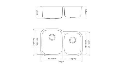 kitchen sink with cabinet 60 40 sink 6040