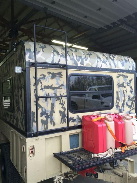trailer m1101 camper build rack campers overland front truck rv trailers camp road deer camping conversion m1102 jeep pickup trucks