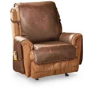 Faux Leather Recliner Cover - 666210, Furniture Covers at