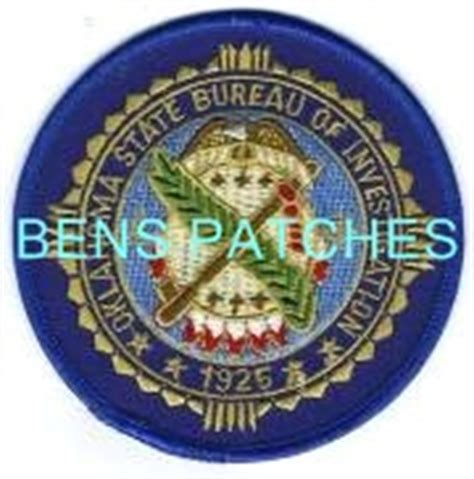 state bureau of investigations ben 39 s patch collection