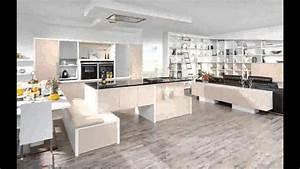 Küche Mit Wohnzimmer : k che und wohnzimmer in einem design youtube ~ Markanthonyermac.com Haus und Dekorationen