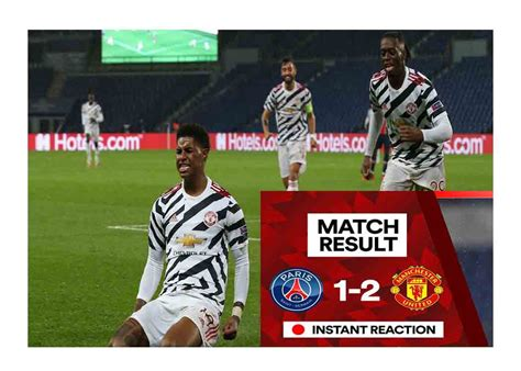 Manchester United Wins PSG 2-1 on First 2020-2021 ...