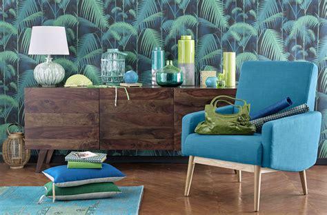 peinture bleu chambre tendance jungle misez sur une déco exotique le déco de maisons du monde