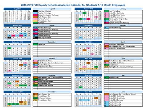 calendar school calendar students