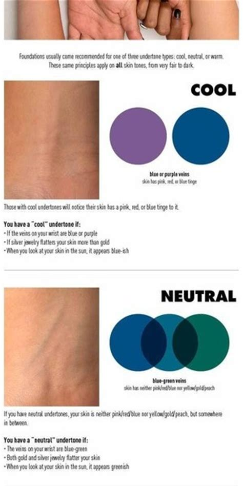 how to what foundation color you are finding your skin undertone help beautylish