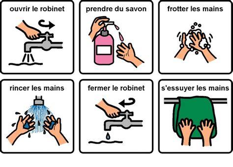 fiche technique d une toilette au lavabo les 25 meilleures id 233 es concernant lavage des mains sur affiche sur le lavage des