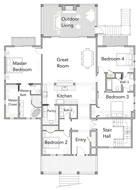 house floor plans view orientated coastal house plans perch collection flatfish island designs coastal home