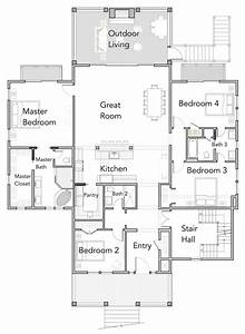 View, Orientated, Coastal, House, Plans