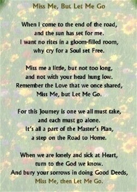 wonderful poem  letting    loved