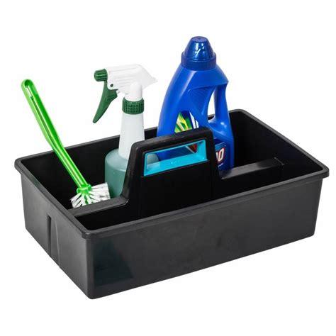 black carry caddy  storage box