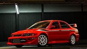 Mitsubishi Lancer Evo V 3D Wallpapers Desktop Background