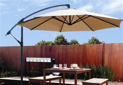 10ft Out Door Deck Patio Umbrella Off Set Tilt Cantilever