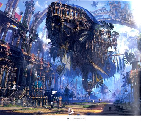 beautiful scenes   fantasy world background