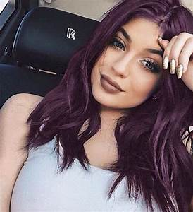 35 Bold and Provocative Dark Purple Hair Color Ideas - Part 27