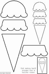 ice cream cone applique template applique svg embroidery With paper ice cream cone template