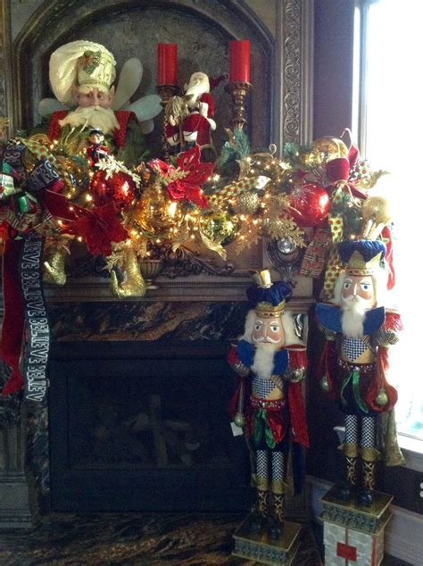 fireplace nutcracker nutcrackers mantel designed by lupita rodriguez at arcadia