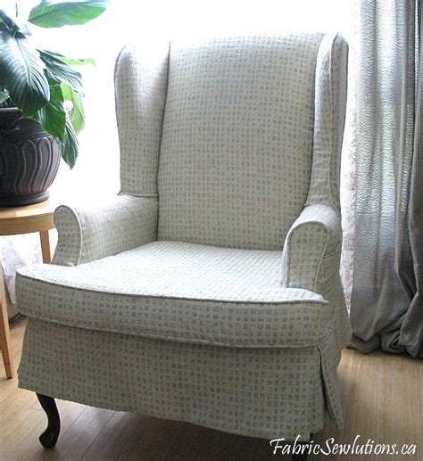wing chair slipcovers sewlutions 39 wingback chair slipcover