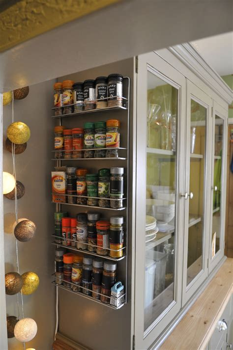 kitchen spice rack ideas large aluminium wall mounted corner spice rack beside