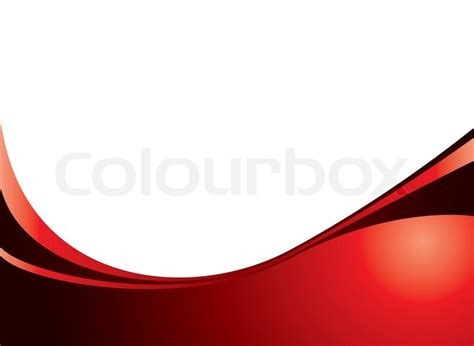 Clean crisp abstract background in red with copy space