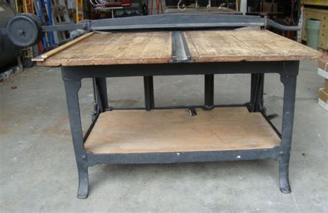 commercial fabric cutting table black dog salvage architectural antiques custom