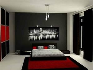 Chambre A Coucher Gris Et Rouge. decoration chambre rouge et gris ...