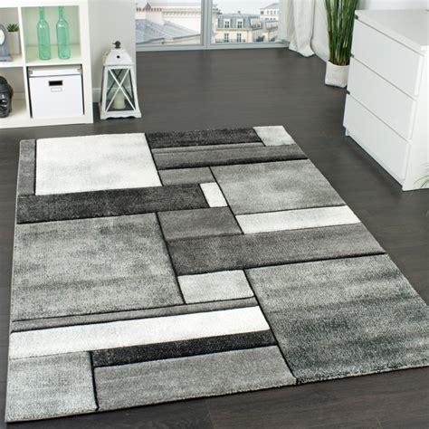 designer teppich kariert wohnzimmer teppich modern real