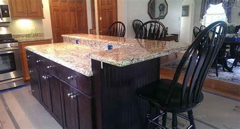 Kitchen Island Countertop Overhang Granite Brackets Countertop Brackets And Countertop Supports