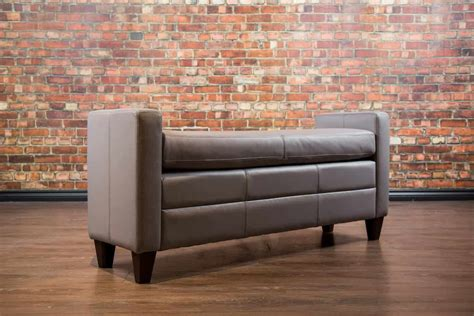 end of bed bench canada the end of bed ottoman collection canada s leather