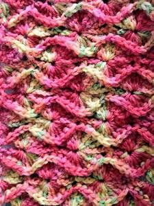 Crochet Kitten: Bavarian Crochet in Rows
