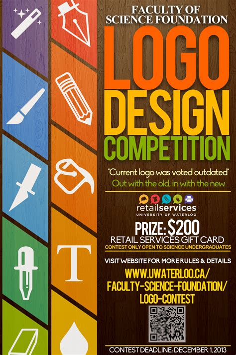 fsf logo contest last day to submit your entry science university of waterloo