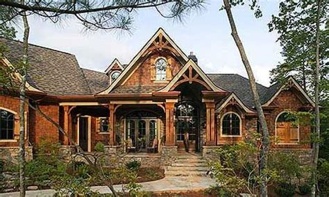 House Plans Walkout Basement Hillside by Unique Luxury House Plans Luxury Craftsman House Plans