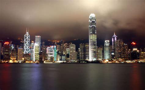 hong kong city ocean wide wallpapers wallpapers hd