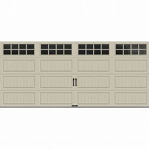clopay gallery collection 16 ft x 7 ft 65 r value With 20 x 7 garage door
