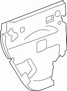 Chevrolet Hhr Door Panel Insulation  Rear