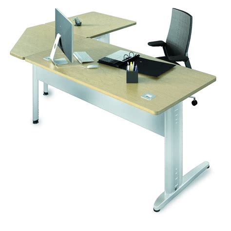 bureau angle droit bureau droit corial 180x80 angle 90 retour 80x80