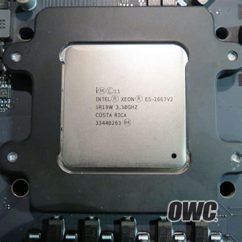 mac pro cpu upgradeability confirmed  processor swap