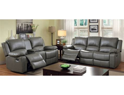 Darrin Leather Reclining Sofa With Console by Sofa With Console Rooms