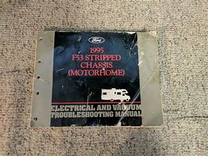 1995 Ford F53 Stripped Chassis Motorhome Electrical Vacuum