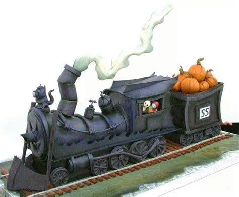 scary halloween cakes images  pinterest