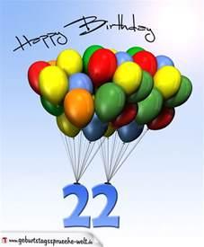 geburtstagssprüche zum 40 geburtstag geburtstagskarte mit luftballons zum 22 geburtstag geburtstagssprüche welt