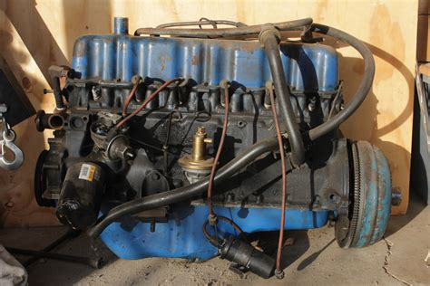 Ford 300 Ci 6 Cylinder Engine Diagram by Sold Mustang 200ci I6 Engine C4 Automatic