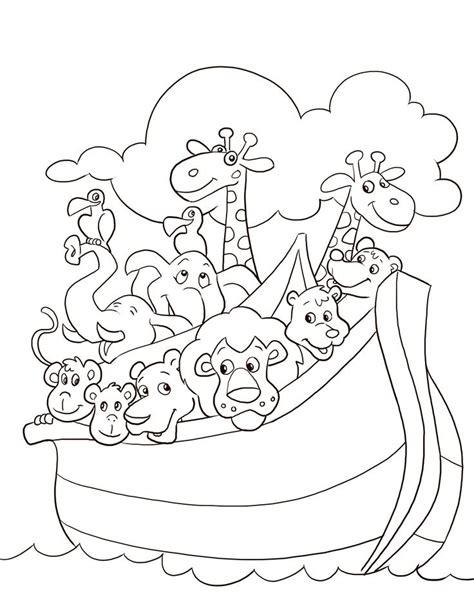 noahs ark coloring pages noahs ark coloring page