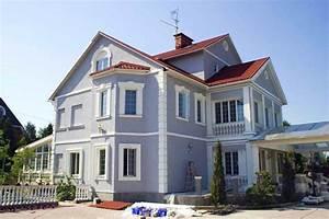 Peinture Facade Maison : peinture exterieure maison moderne avec peinture ~ Melissatoandfro.com Idées de Décoration