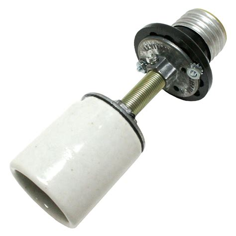 general 00045 porcelain medium e26 base socket