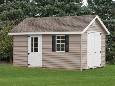 With Storage Shed by Classic Storage Sheds Cedar Craft Storage Solutions