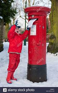 posting a letter to santa england post box letter box With letters to santa post box