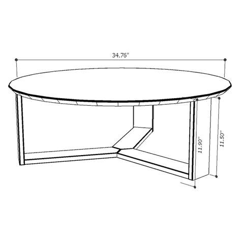 Markel Modern Blue Coffee Table  Eurway Furniture