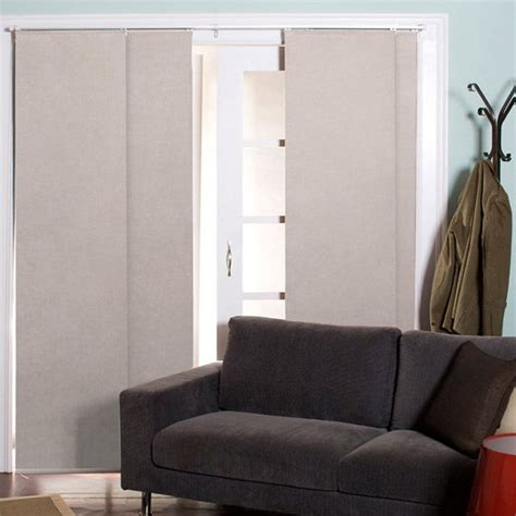 cameo sliding door curtain panel set