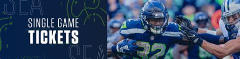 seattle seahawks single game  seattle seahawks
